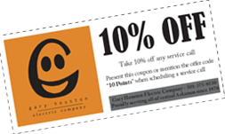Ten Percent Off Coupon